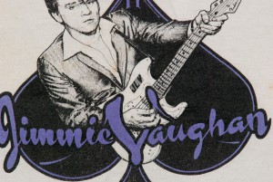 click to embiggen. A close-up of the Jimmie Vaughan shirt to demonstrate the amazing detail of Danny's pen & ink work