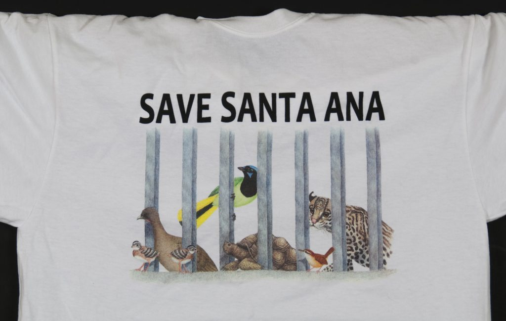 Save Santa Ana T-shirt